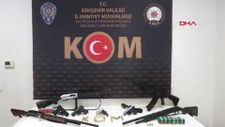 Eskişehir'de silah kaçakçılığı operasyonu: 6 gözaltı