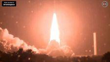 Fransa, askeri iletişim uydusunu uzaya fırlattı