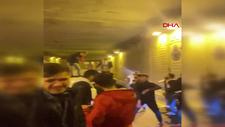 İstanbul'da 2 farklı noktada tüneli kapatarak asker eğlencesi yaptılar