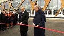 Cumhurbaşkanı Erdoğan ile İlham Aliyev, Füzuli Havalimanı'nı açtı