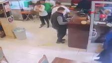 Konya'da soluk borusuna ekmek kaçan müşteriyi, çalışanın müdahalesi kurtardı