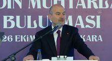 Süleyman Soylu, Cumhurbaşkanı Erdoğan'la olan anısını anlattı