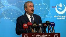 Mustafa Destici: CHP, HDP'nin korkusuyla 'evet' diyemedi