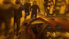 Ümraniye'de tünel kapatarak dans eden sürücülere cezası kesildi