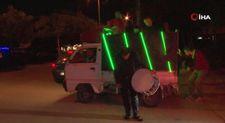 Konya'da sahurda davulcuya bu sefer DJ de eşlik etti