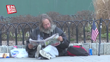 New York'ta evsizler hala sokaklarda