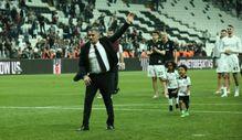 Şenol Güneş Beşiktaş'a üçlü çektirerek veda etti