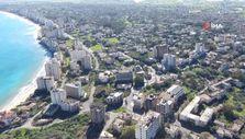 Hayalet şehir Maraş havadan görüntülendi