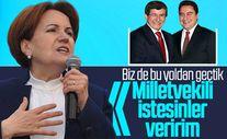 Meral Akşener'den Babacan ve Davutoğlu'na destek