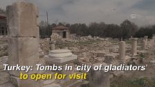 Turkey: Tombs in 'city of gladiators' to open for visit