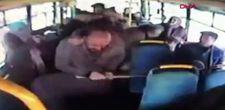 Niğde'de yol verme kavgasında otobüs şoförünü darbetti