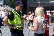 Norveç'te İslam karşıtı gösteride provakasyon
