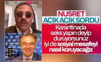 Nusret'ten Mehmet Öz'e seks sorusu