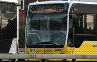 Okmeydanı durağında metrobüs kazası