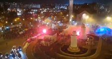 Fransa'da G.Saray taraftarına çirkin saldırı