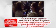 Polis amirinden HDP'li milletvekiline ayar