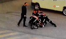 Polisten kaçarken düşen şahıs uyuşturucuyla yakalandı