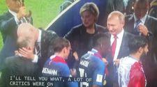 Putin'in sekreteri Dünya Kupası madalyasını cebine attı