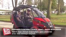 Tamamen elektrikli itfaiye aracı: Rapid Responder