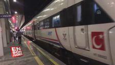 Bilecik-Arifiye demiryolu aşırı yağış nedeniyle kapatıldı