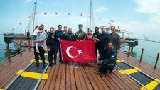 Şahika Ercümen'den Samsun'da saygı dalışı