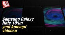 Samsung Galaxy Note 10'un yeni konsept videosu