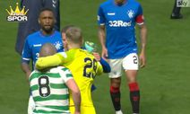 Old Firm derbisinde Ryan Kent Brown'a yumruk attı