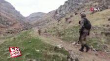 Siirt'te terör örgütü PKK'ya ait 9 sığınak imha edildi