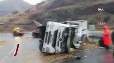 Elazığ'da tarafik kazasında 1 kişi hayatını kaybetti