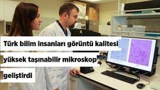 Türk bilim insanlarından görüntü kalitesi yüksek taşınabilir mikroskop