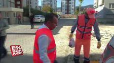 Bolu'da konteyner dışına çöp atanlar kamera ile tespit edilecek