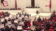 CHP'liler TBMM'de Bakan Turhan'ı protesto etti