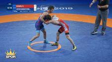 Kerem Kamal'dan Gençler Dünya Güreş Şampiyonası'nda altın madalya