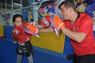 Hakkari'nin altın çocuğu Gizem Muaythai Dünya şampiyonu