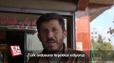 Resulaynlılar Türk askerine teşekkür etti
