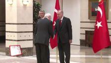 Erdoğan Yunan Büyükelçi'yi kabul etti