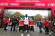 Eliud Kipchoge'den maratonda dünya rekoru
