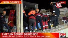 Elazığ'da kurtarma çalışmaları başladı