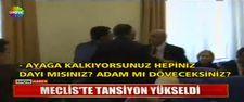 Meclis'te milletvekilleri arasında sert tartışma