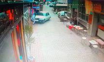 Bursa'da çocuk sürücü ganyan bayiine daldı