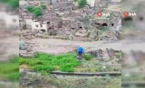 Yuvalı köyündeki sel felaketi
