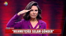 Show TV ana haber spikeri Ece Üner'den asker selamı