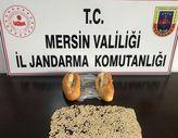 Mersin'de ekmek arası uyuşturucu kaçakçılığı