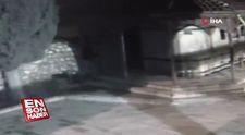 Musluk hırsızı, caminin güvenlik kamerasına yakalandı