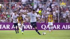Cardozo'nun orta sahadan attığı nefis gol
