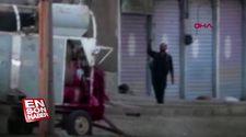 Resulayn'daki teröristlerin çekilme anları görüntülendi