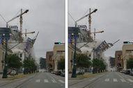 ABD'de kafe inşaatında meydana gelen çökme