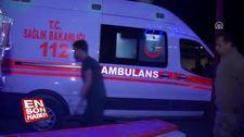 Kars'ta teröristlerin yola döşediği patlayıcı askeri aracın geçişi esnasında patlatıldı