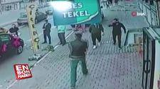 Esenyurt'ta 2 kişinin yaralandığı silahlı saldırı kamerada