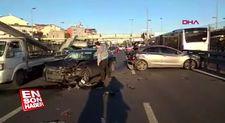 Okmeydanı'nda trafik kazası